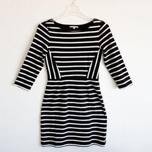 Gap Striped Cotton Knit Dress unworn